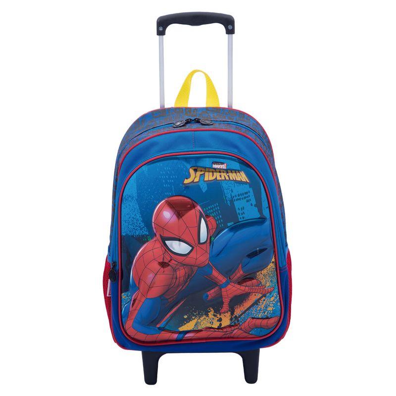 5bbea08f9fb18c Mochila Com Rodinhas - Spider-Man - Marvel - Disney - Sestini - Ri Happy  Brinquedos