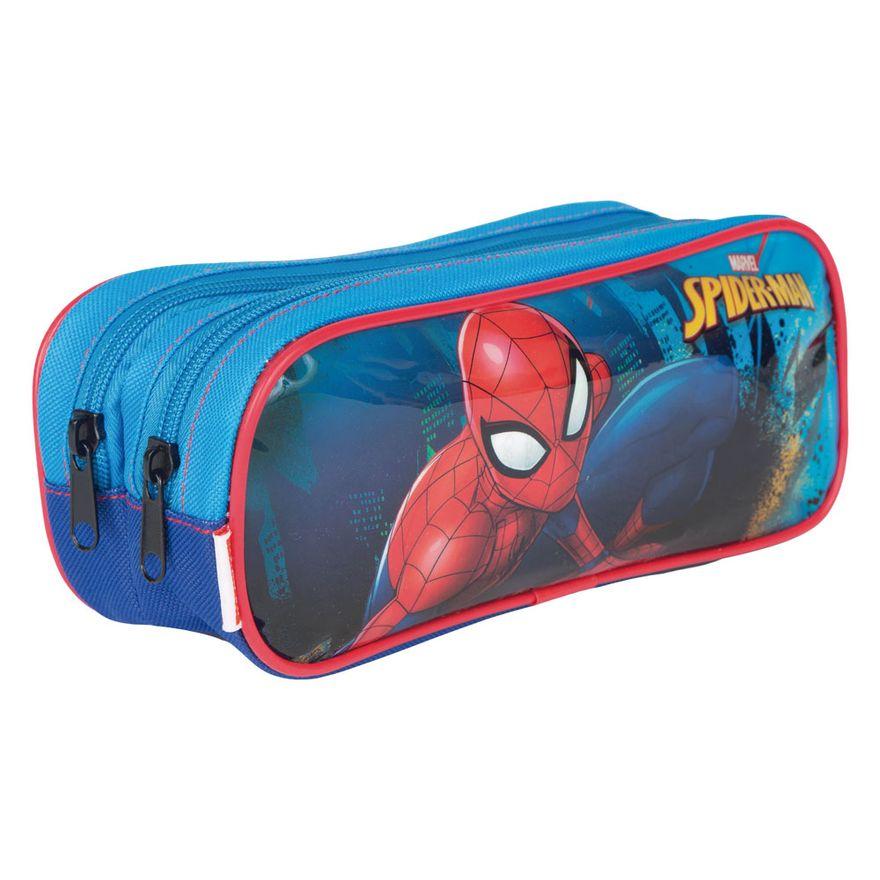 Estojo---2-Divisorias---Spider-Man---Marvel---Disney---Sestini