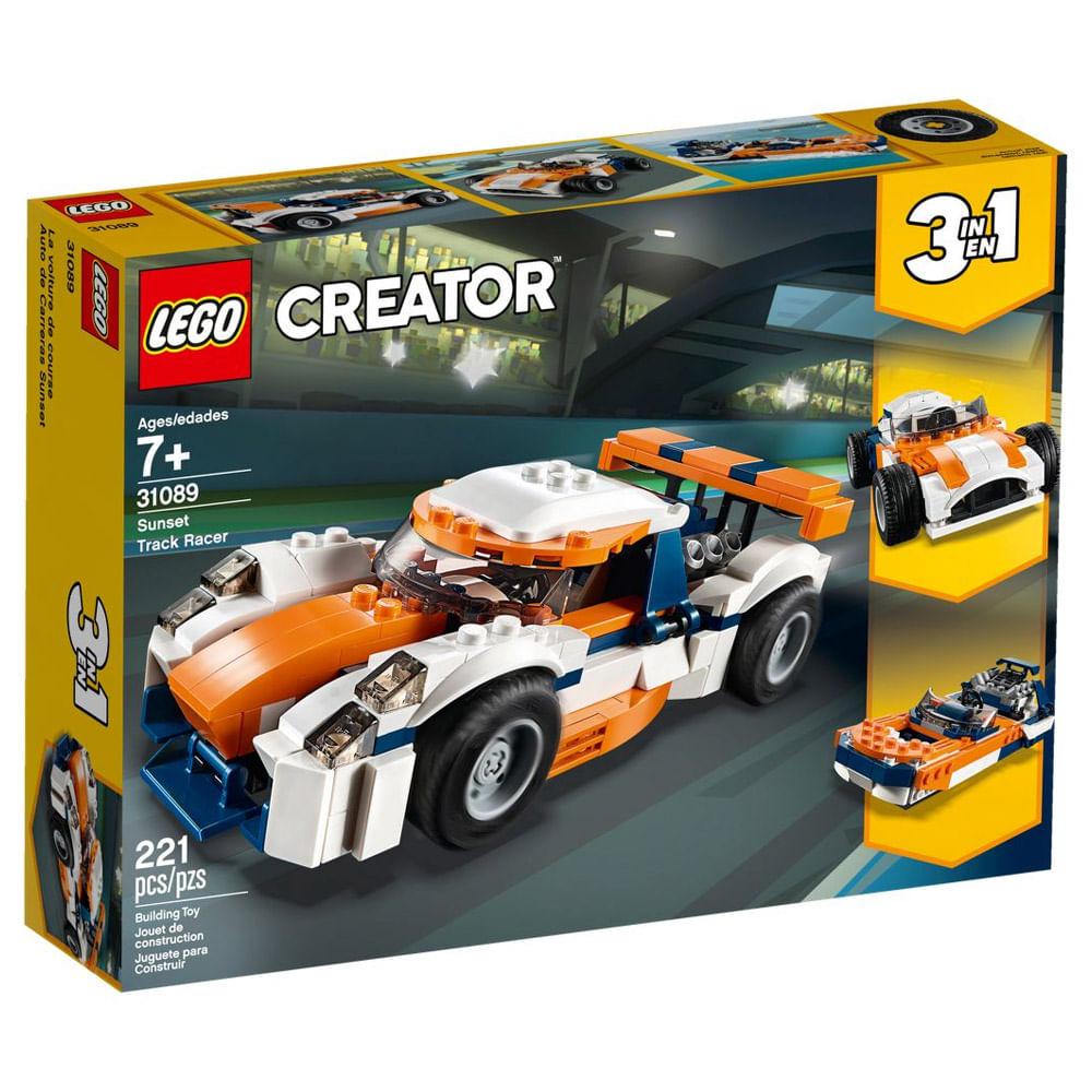 LEGO Creator - 3 em 1 - Veículos de Corrida - 31089