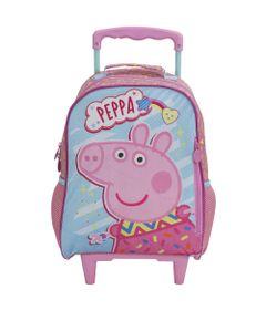 Mochila-com-Rodinhas---35Cm-Peppa-Pig---Fantastic---Xeryus