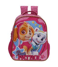 Mochila-Infantil---36Cm---Patrulha-Canina---Girl-Team---Xeryus
