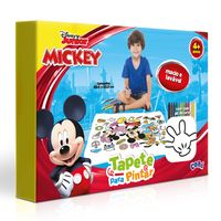 Tapete-Para-Pintra-Com-Giz-De-Cera---Mickey-Mouse---Disney---Dupla-Face---Toyster