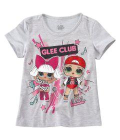 Camisa-Infantil---Manga-Curta---Meia-Malha---Mescla-Estampada---LOL-Surprise----Malwee