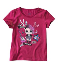 camiseta-infantil-meia-malha-rosa-shock-estampada-lol-surprise--malwee-8-1000050560_Frente