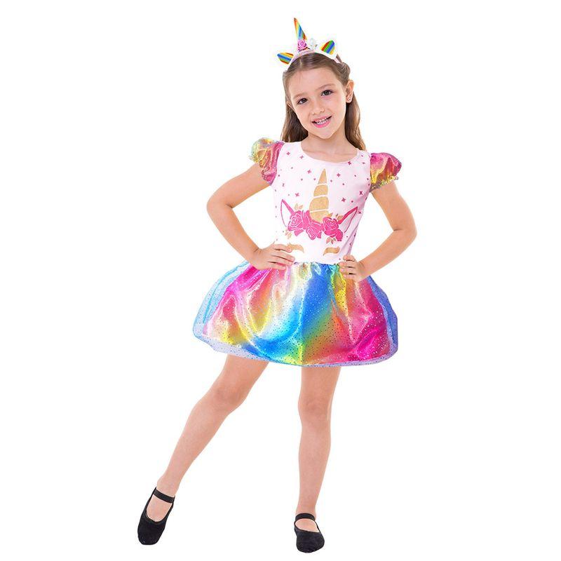463d4399c82885 Fantasia Infantil - Unicórnio - Clássica - Global Fantasias