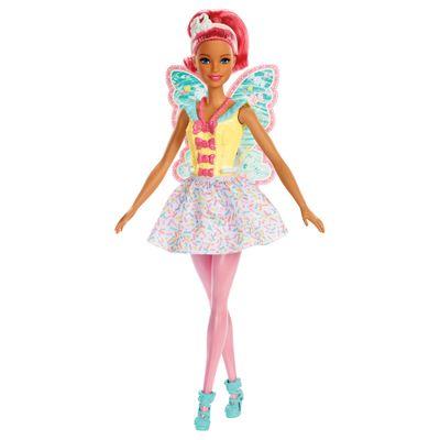 Boneca Barbie Barbie Dreamtopia Fadas Pink Mattel