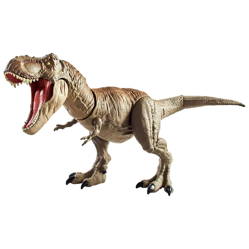 Figura Articulada - Jurassic World 2 - Dino Rivals - T - Rex - Mattel