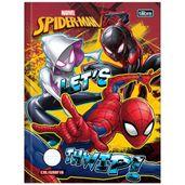 Caderno-de-Brochura---Caligrafia---Disney---Marvel---Spider-Man---Let-s-Thwip---40-Folhas---Tilibra