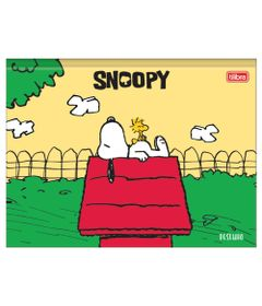 Caderno-de-Brochura---Capa-Dura---Snoop-Dog---80-Folhas---Tilibra