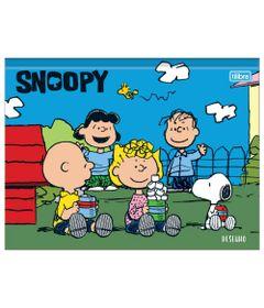 Caderno-de-Brochura---Capa-Dura---Snoop-Dog-E-Seus-Amigos---80-Folhas---Tilibra