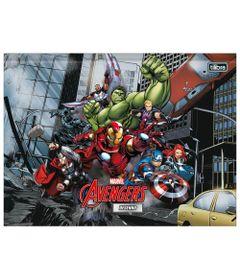 Caderno-de-Brochura---Capa-Dura---Universitario---Disney---Marvel---Avengers---80-Folhas---Tilibra