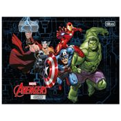 Caderno-de-Brochura---Capa-Dura---Universitario---Disney---Marvel---Avengers-II---80-Folhas---Tilibra