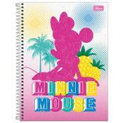 Caderno-de-Espiral---Capa-Dura---Colegial---Disney---Minnie-Mouse---10-Materias---Tilibra