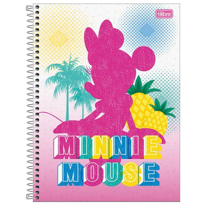 6f56e3b77 Caderno de Espiral - Capa Dura - Colegial - Disney - Minnie Mouse - 10  Matérias - Tilibra - Ri Happy Brinquedos