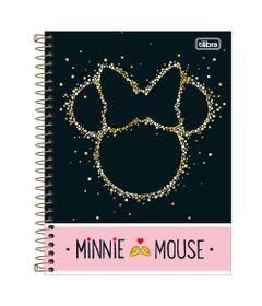 Caderno-de-Espiral---Capa-Dura---Colegial---Disney---Minnie-Mouse---80-Folhas---Tilibra