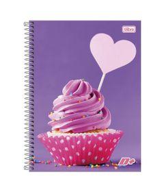 Caderno-de-Espiral---Capa-Dura---Colegial---Feminino---Cupcake---96-Folhas---Tilibra