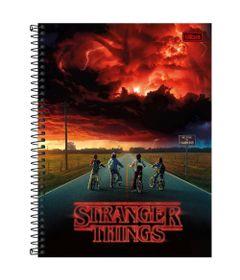 Caderno-de-Espiral---Capa-Dura---Colegial---Stranger-Things---Hawkins---10-Materias---Tilibra