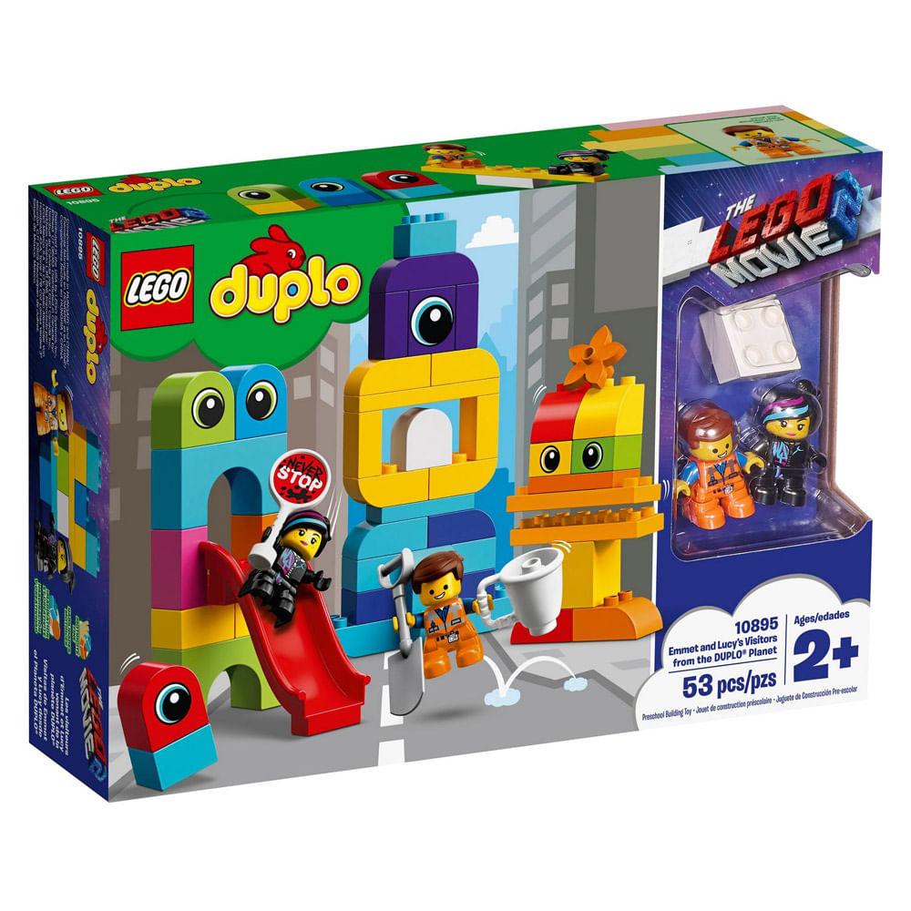 LEGO Duplo - O Filme 2 - Visitantes do Planeta DUPLO - 10895