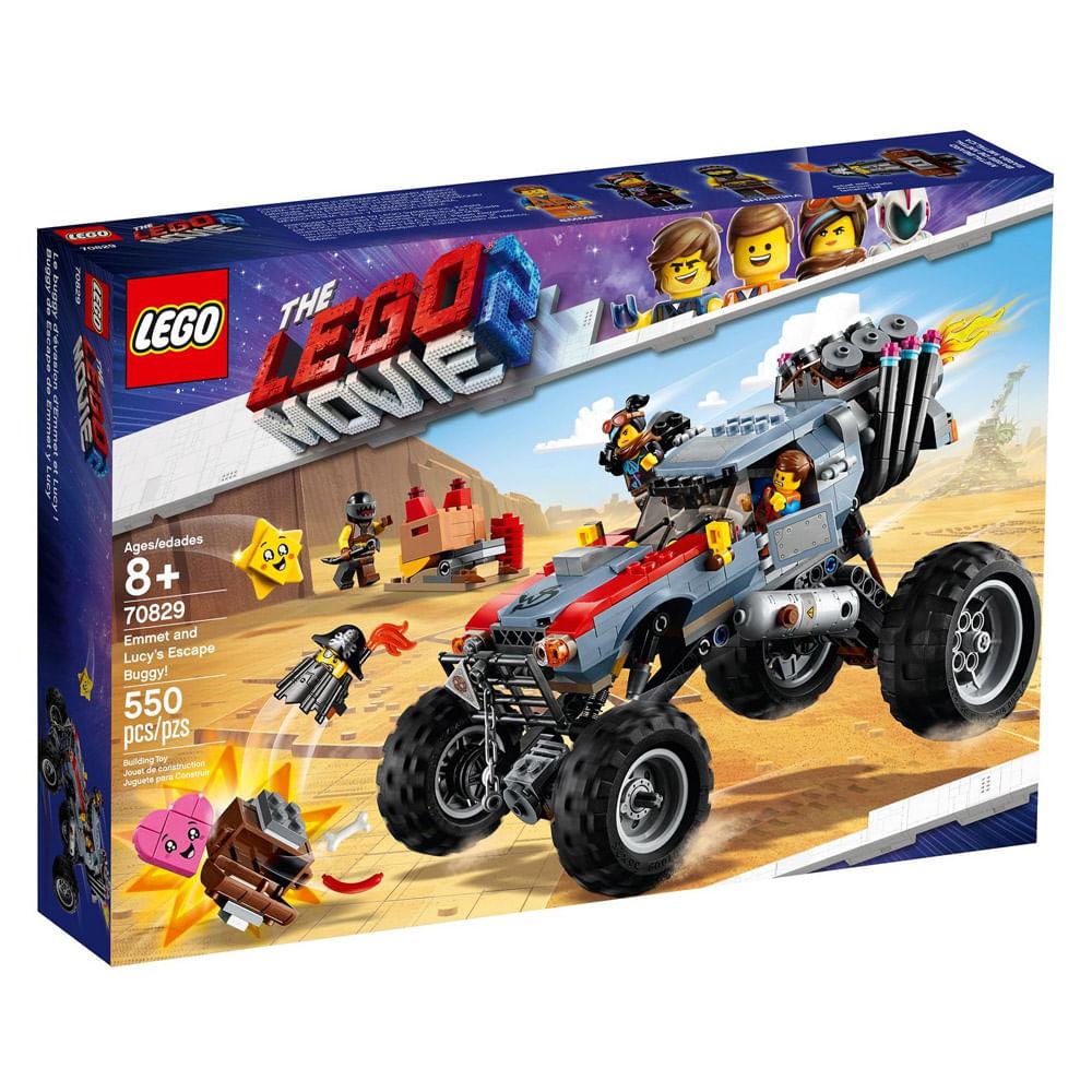 LEGO Movie - O Filme 2 - Veículo de Fuga do Emmet e Lucy - 70829