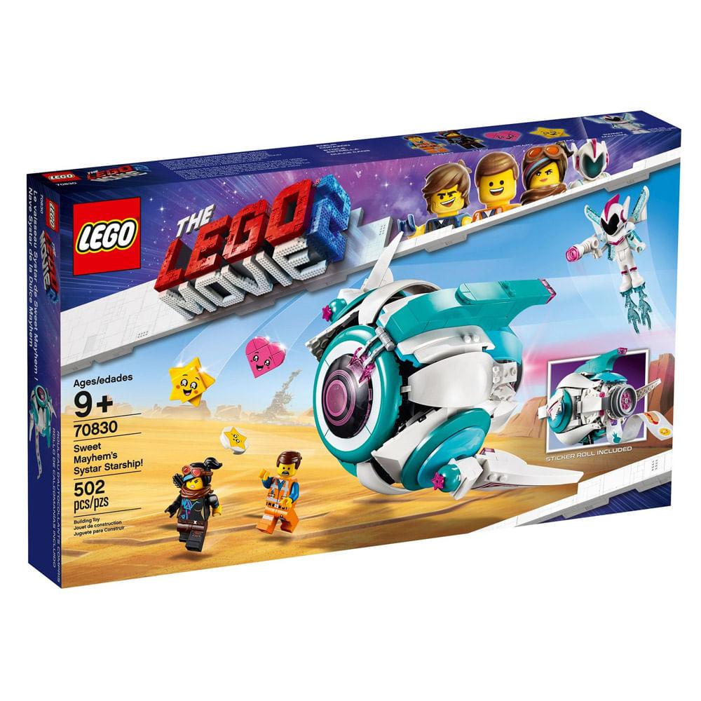 LEGO Movie - O Filme 2 - Nave Espacial Mayhem's - 70830