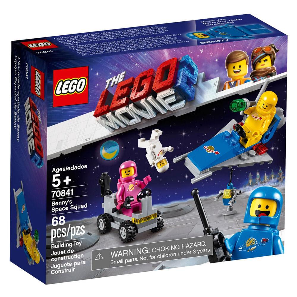 LEGO Movie - O Filme 2 - Pelotão Espacial Benny - 70841