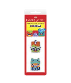 Borrachas-Coloridas---Carinhas---2-Unidades---Faber-Castell