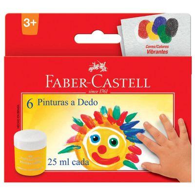 Guache-Pintura-a-Dedo---25Ml---6-Cores---Faber-Castell