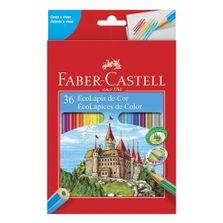 Lapis-de-Cor---Ecolapis---Sextavado---36-Cores---Faber-Castell