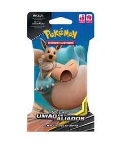 Deck-Pokemon---Blister-Unitario---Sol-e-Lua---Uniao-de-Aliados---Eevee-e-Snorlax---Copag