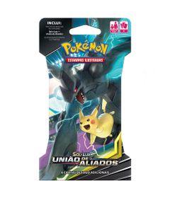 Deck-Pokemon---Blister-Unitario---Sol-e-Lua---Uniao-de-Aliados---Pikachu-e-Zekrom---Copag