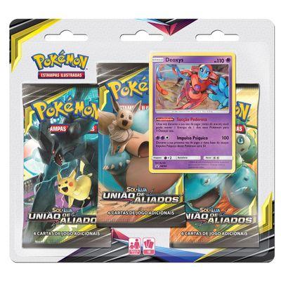 Jogo-Pokemon---Triple-Deck---Sol-e-Lua---Uniao-de-Aliados---Deoxys---Copag