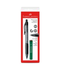 Lapiseira-0.5mm---Poly---Preta---Faber-Castell