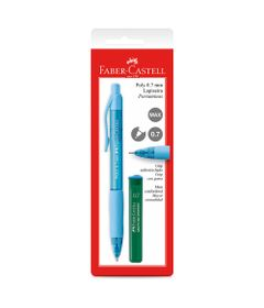 Lapiseira-0.7mm---Poly---Azul---Faber-Castell