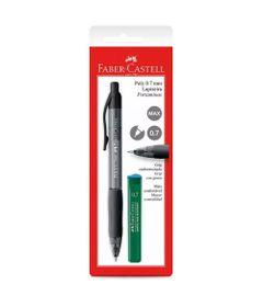 Lapiseira-0.7mm---Poly---Preta---Faber-Castell