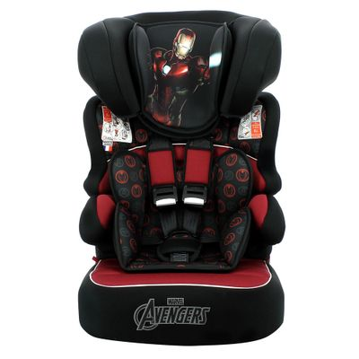 Cadeira Para Auto De 09 a 36 Kg Beline Disney Marvel Iron Man Team Tex