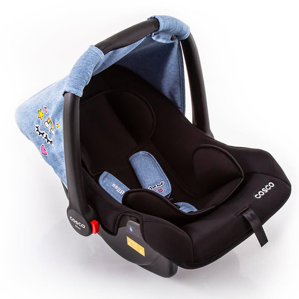 Bebê Conforto - De 0 a 13 Kg - Bliss - Azul Patch - Cosco