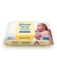 Lencos-Umedecidos---Recem-Nascido---96-Unidades---Johnson-s-Baby
