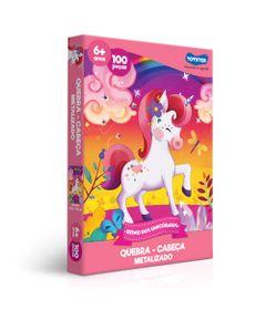 Quebra-Cabeca----Reino-Dos-Unicornios---100-Pecas---Toyster