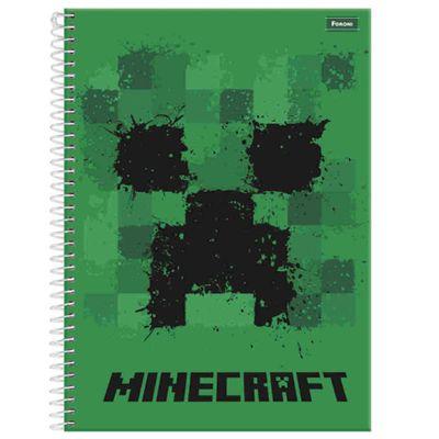 caderno-de-espiral-capa-dura-universitario-01-materia-minecraft-logo-foroni-33-6080-5_Frente
