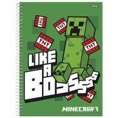 caderno-de-espiral-capa-dura-universitario-01-materia-minecraft-like-a-boss-foroni-33-6080-5_Frente