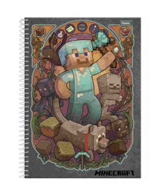 caderno-de-espiral-capa-dura-universitario-01-materia-minecraft-personagem-foroni-33-6080-5_Frente