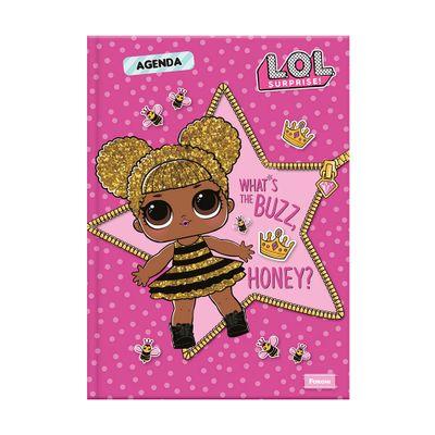 Agenda-Escolar-Permanente---LOL-Surprise----Honey---Foroni