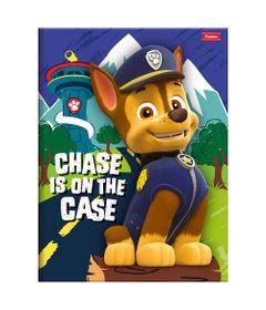 Caderno-de-Brochura---Caligrafia---Patrulha-Canina---96-Folhas---Chase-in-on-the-Case---Foroni