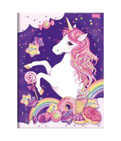 Caderno-de-Brochura---Caligrafia---Unicornio-II---96-Folhas---Foroni