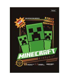Caderno-de-Brochurao---Caligrafia---Minecraft---96-Folhas---Creepers---Foroni