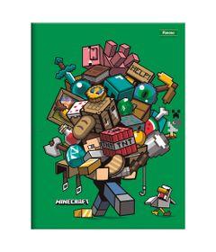 Caderno-de-Brochurao---Caligrafia---Minecraft---96-Folhas---Help---Foroni
