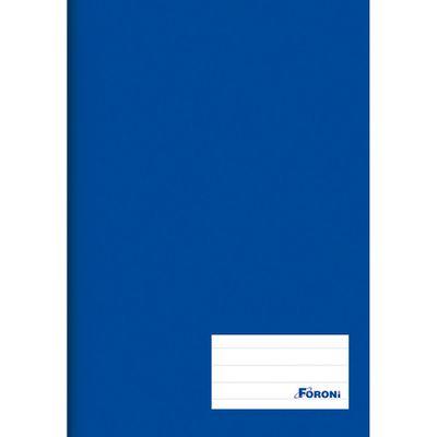 Caderno-de-Brochurao---Capa-Dura---Universitario---96-Folhas---Azul---Foroni