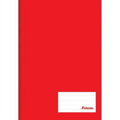 Caderno-de-Brochurao---Capa-Dura---Universitario---96-Folhas---Vermelho---Foroni