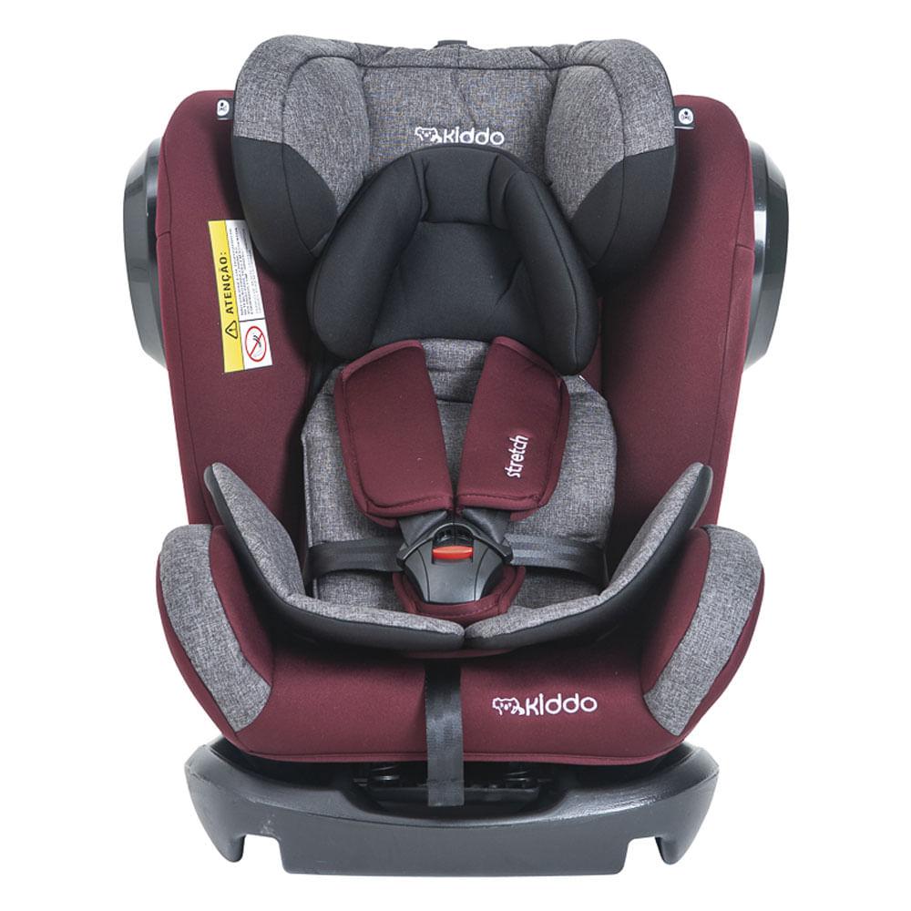 Cadeira Para Auto - De 0 a 36Kg - Stretch - Melange e Vinho - Kiddo