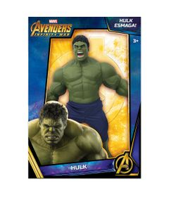 Boneco - Hulk - Guerra Infinita - Marvel - Disney - 50 cm - Mimo 97aa5457927